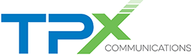 Logo for TPX Communications.