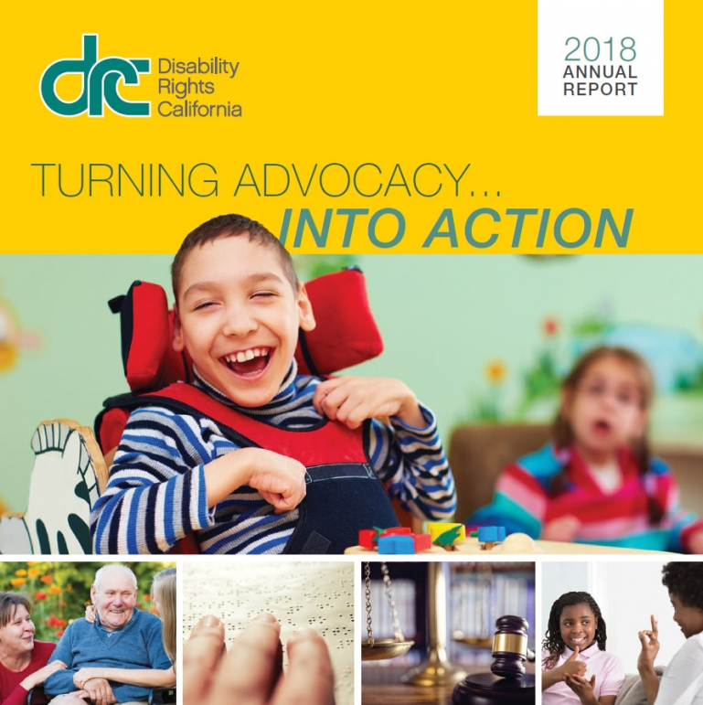 Cover for the 2018 DRC Annual Report.