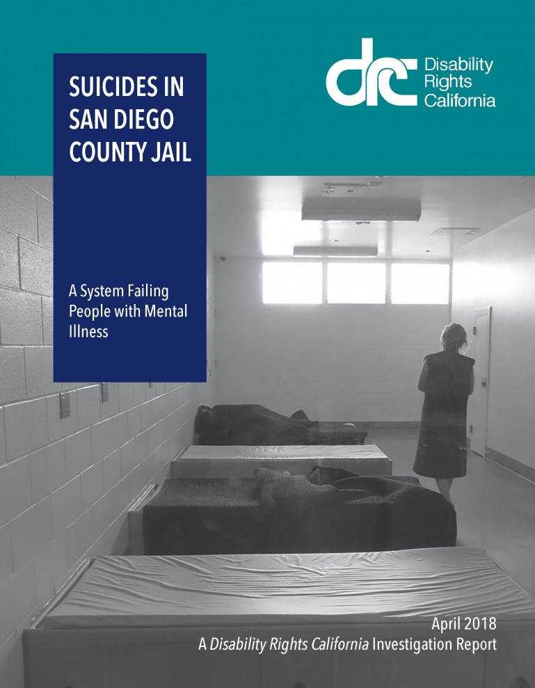 Image of the San Diego Suicide Report Cover.