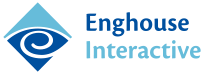 Logo of Enghouse Interactive.